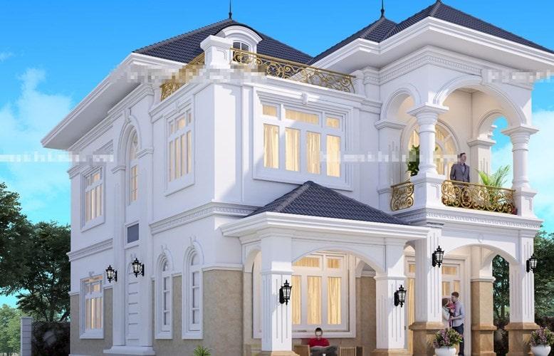 Thiết kế nhà biệt thự Hải Phòng