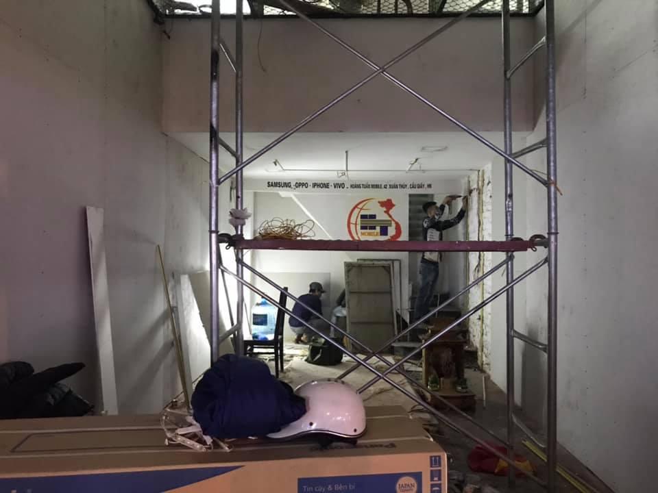 Thi công sửa chữa nhà cũ thành nhà mới