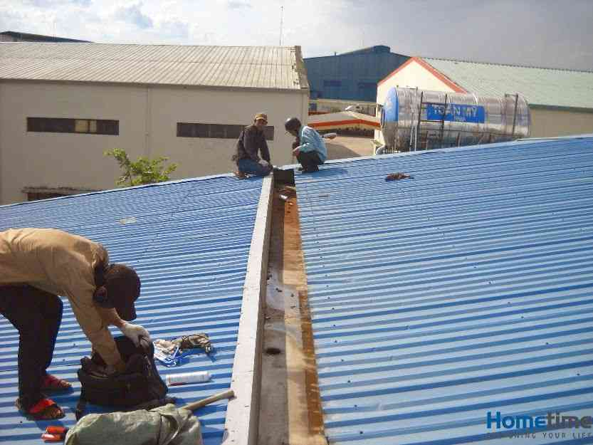 Dịch vụ chống thấm chống dột mái tôn tại Hải Phòng