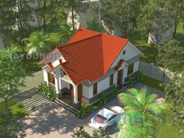 Nhà mái thái được xây dựng theo kiểu kiến trúc thấp tầng: 1 trệt, 1 tầng. Độ dốc của mái khá lớn, các chi tiết của kiến trúc đều thể hiện nét đặc trưng của Thái. Nó có tên gọi như vậy là do nguồn gốc của kiến trúc này xuất phát từ Thái, sau này được du nhập vào Việt Nam. Nếu bạn là người yêu thích văn hóa nước Thái, thì đây sẽ là sự lựa chọn lí tưởng.
