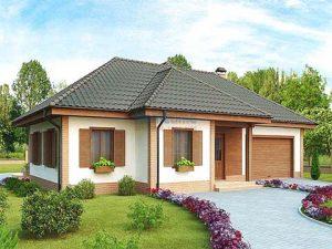 mẫu thiết kế nhà vườn 1 tầng đẹp