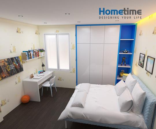 Hình ảnh phòng ngủ của cậu con trai 6 tuổi
