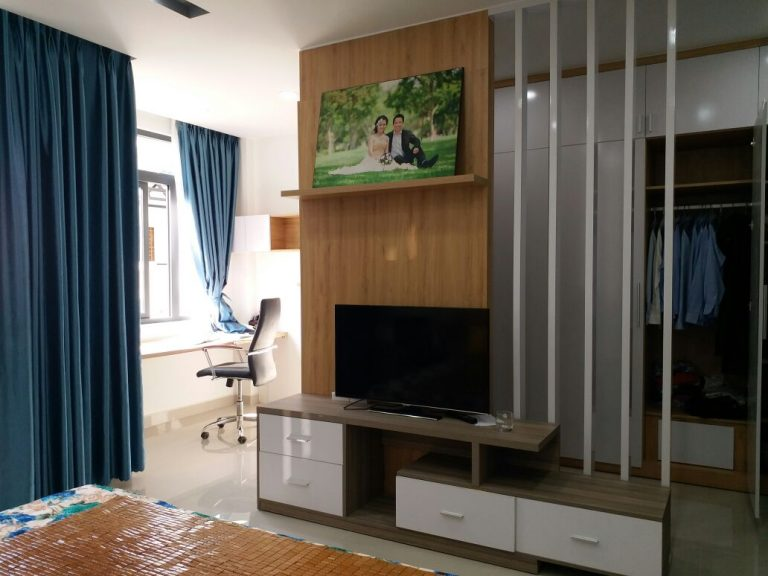 Hình ảnh phòng ngủ trong nhà phố 5 tầng