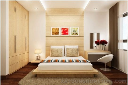 Nội thất phòng ngủ sang trọng hiện đại