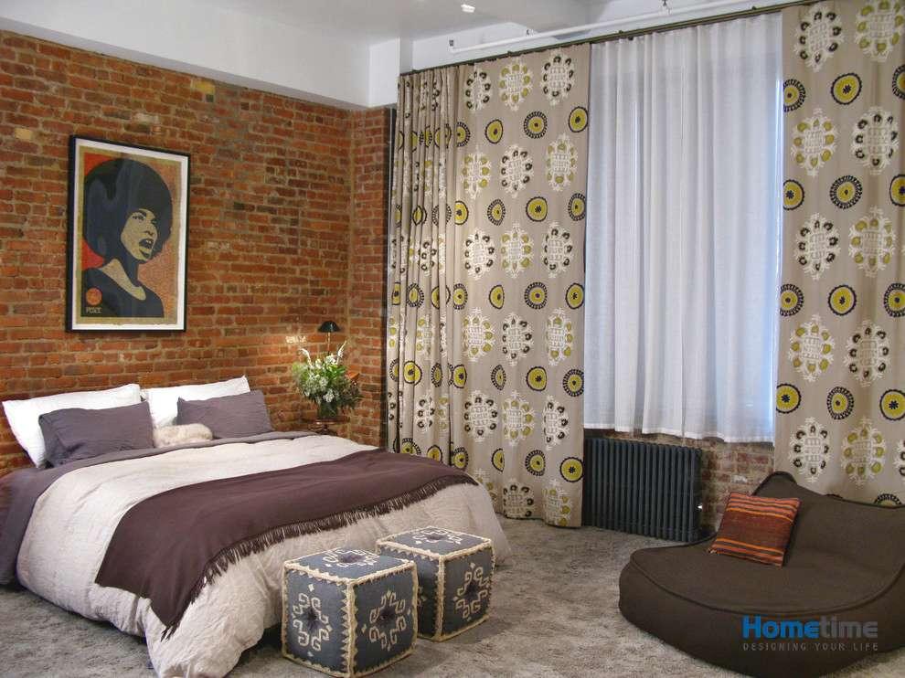 Hình ảnh thiết kế nội thất phòng ngủ tầng 3 căn hộ nhà ống 5x18m
