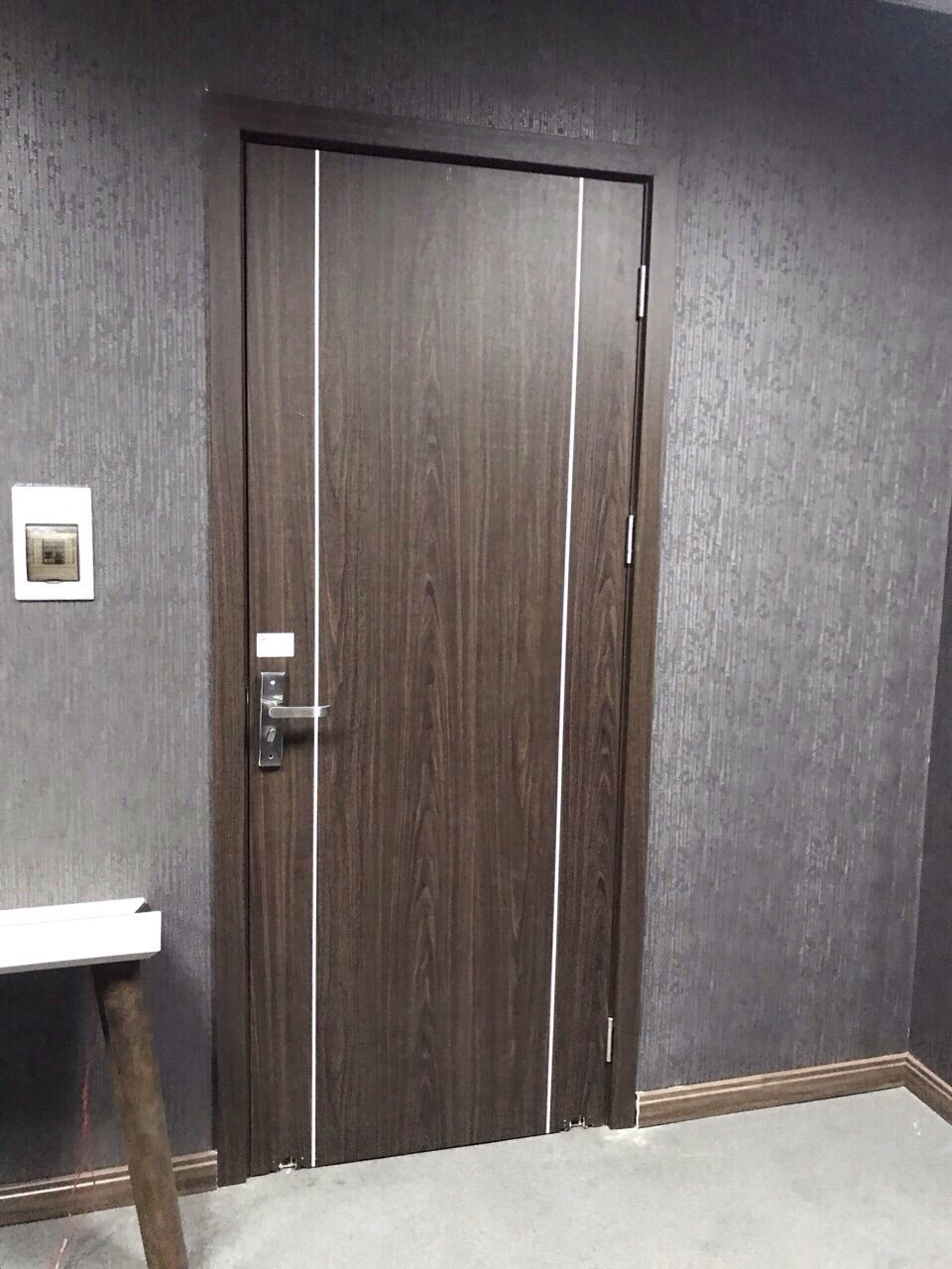 Cửa nhựa composite Hàn Quốc phòng WC