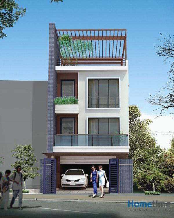 Hometime nhận tư vấn thiết kế nhà phố đẹp tại Hải Phòng