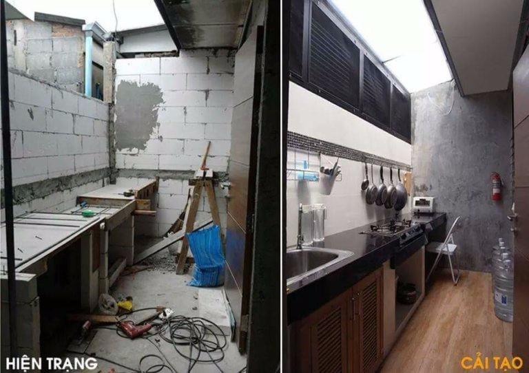 Cải tạo sửa chữa nhà bếp đẹp