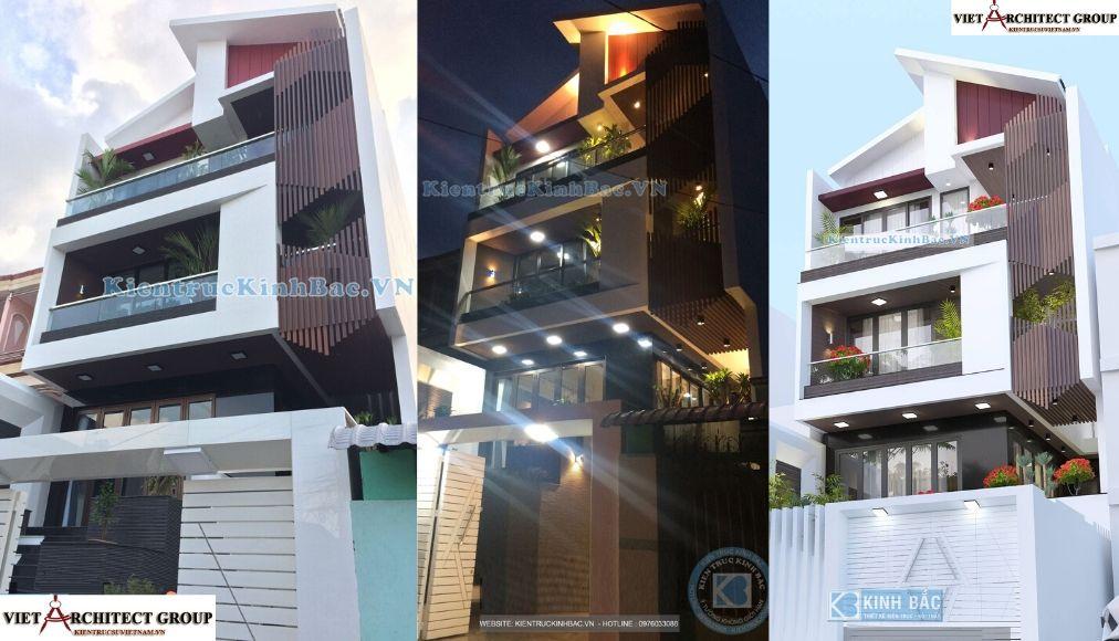 Công trình thiết kế nhà mặt tiền 7,5m