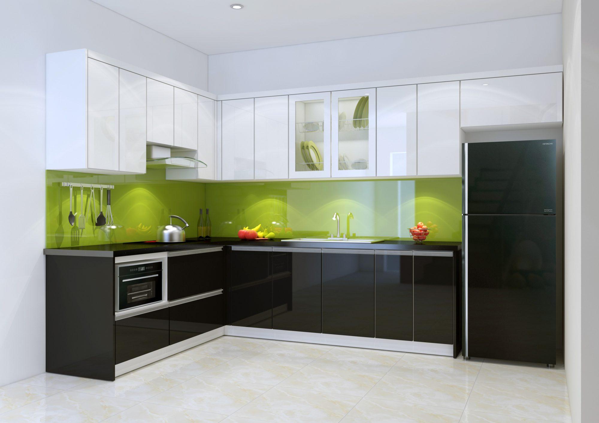 Thiết kế nội thất phòng bếp Hải Phòng
