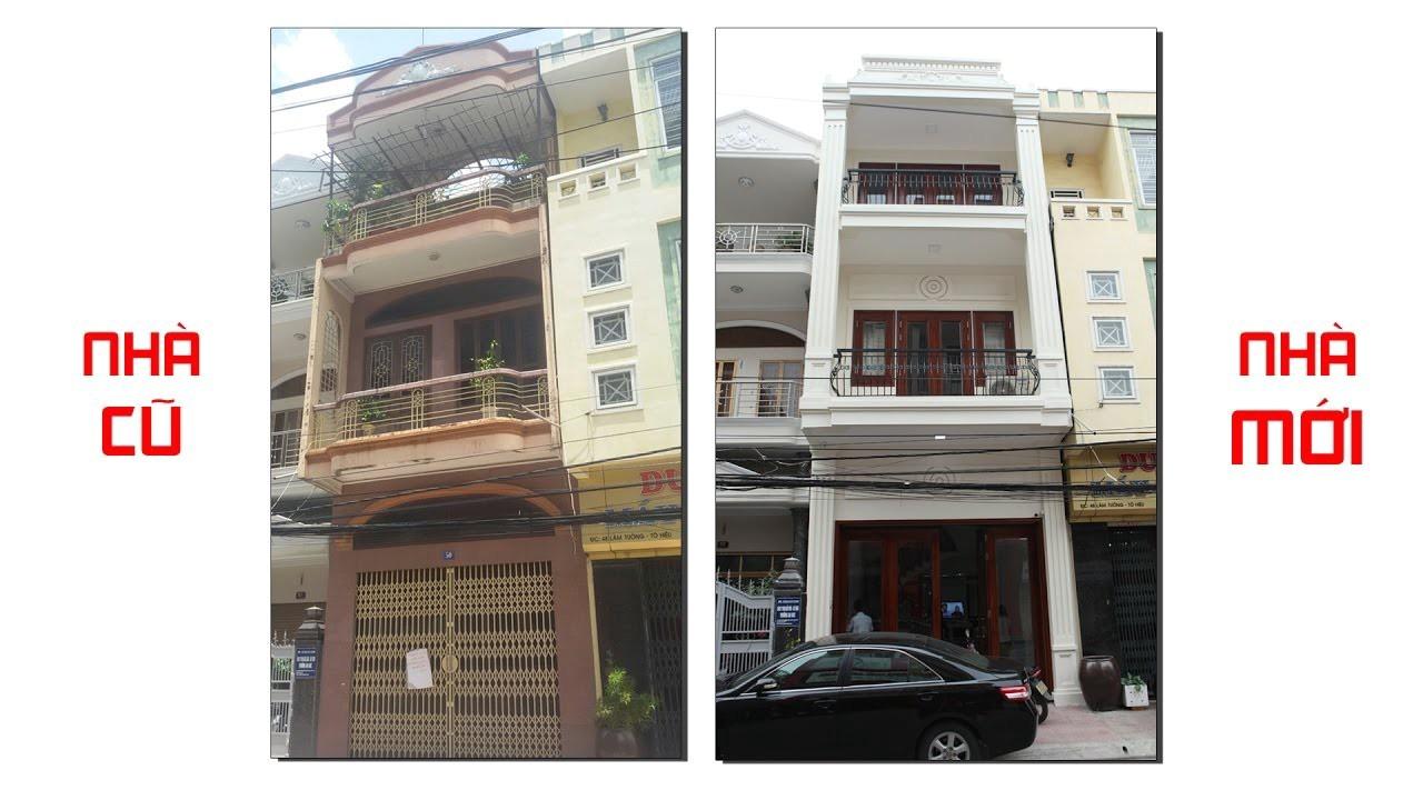 Hình ảnh thi công sửa chữa nhà cũ thành nhà mới tại Hải Phòng