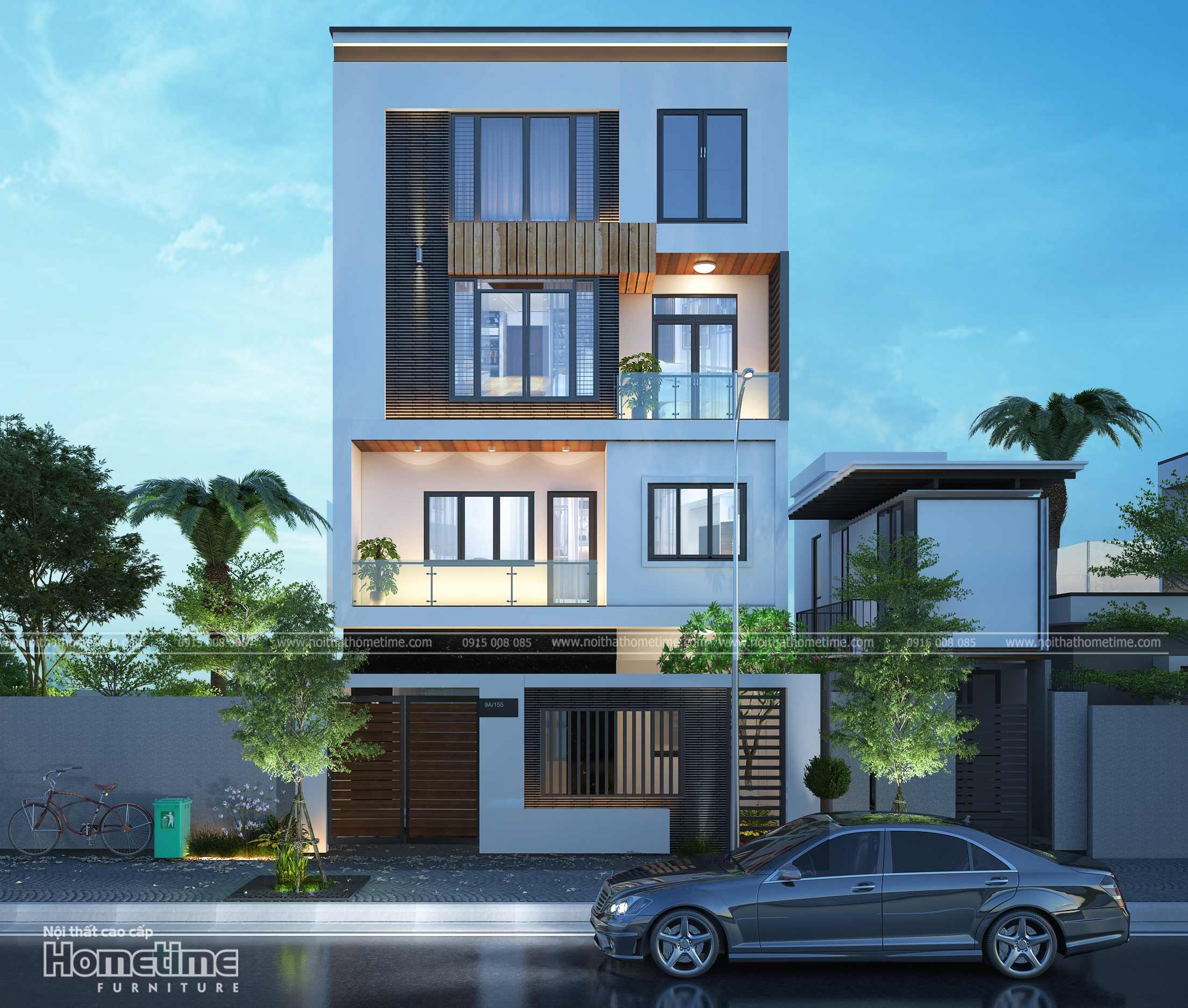 Hình ảnh 3d nhà phố của anh Sơn Phương Lưu Hải Phòng