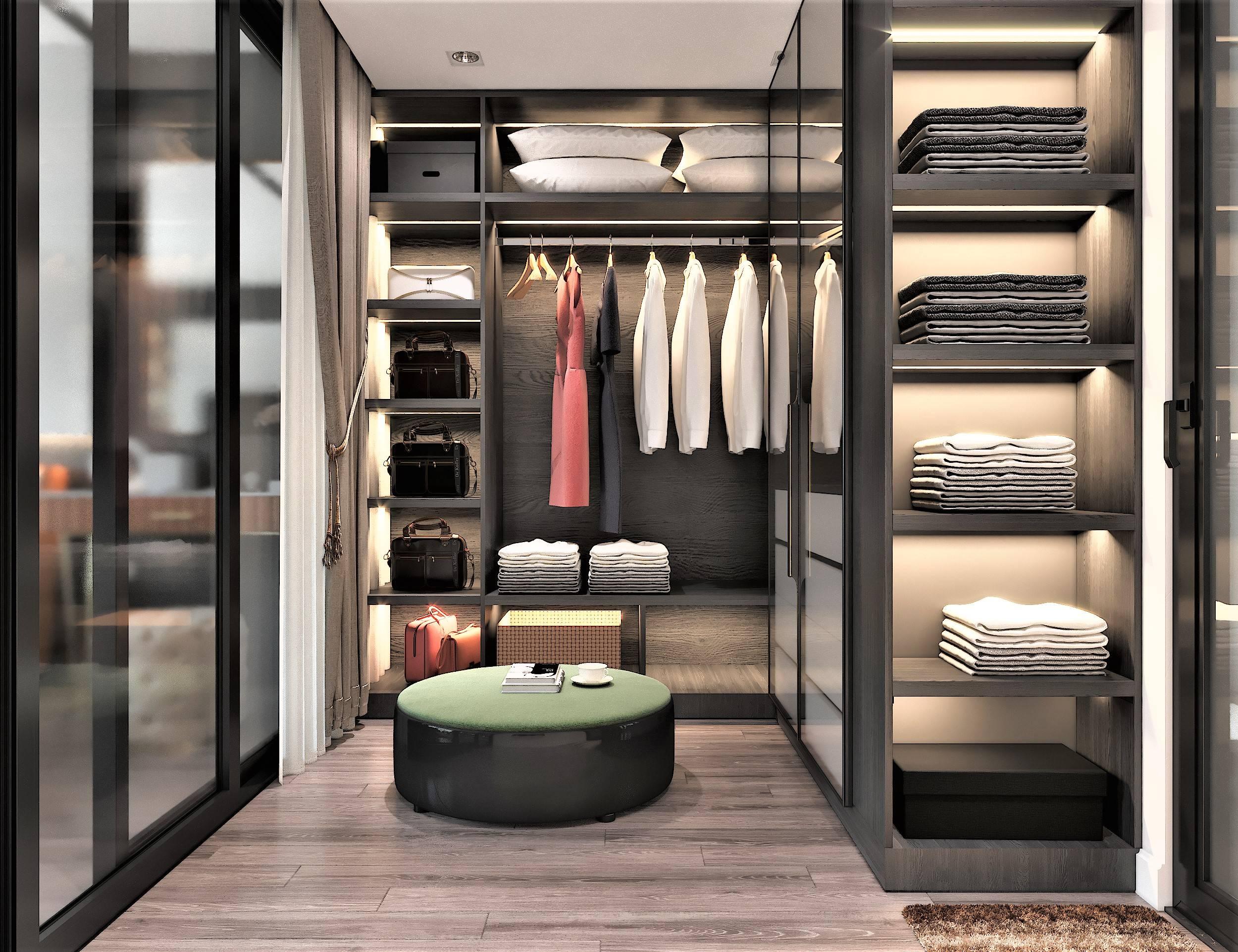 Phòng chứa và thay quần áo