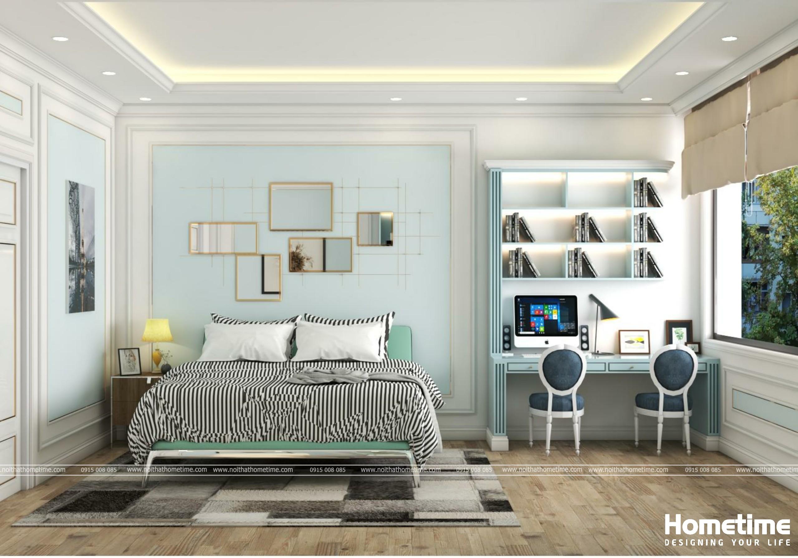 Hình ảnh phòng ngủ một nhà anh Lợi